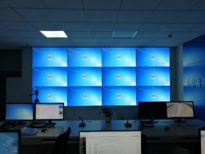 湖南高速交警局液晶拼接屏項目