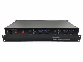 XR-VG02-1U-新锐视听 1U 机架式 两路单向单纤 FC VGA光端机