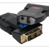 新銳視聽  迷你 4K DVI 光纖傳輸器 單模單纖 LC-XR-MDG01圖片