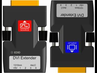 XR-MDG04-新锐视听 迷你DVI 光纤传输器 1920X1200P 单多模4纤 LC