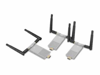 XR-MHWX200-2-新锐视听 迷你 1发2收 无损200M HDMI 无线传输器 本地输出 宽频红外