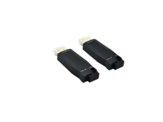 XR-MHG03-1-1-新銳視聽 迷你 4K 30HZ HDMI光纖延長器 單多模 LC 300M