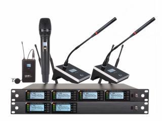 UF-884-UHF段一拖四无线会议系统