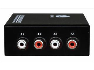 飛暢科技-B系列1-4路蓮花座(RCA)廣播音頻光端機-FCA-A4-RCA圖片