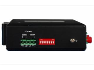 FCP-A16G-飛暢科技-工業軌式 1-16路 4-20MA 模擬量光端機