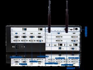 XR-PJ2000-新锐视听HDMI DVI VGA SDI拼接视频处理器 安防监控拼接视频处理器