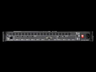 XR-4KFG-4-新锐视听 HDMI DP 4K 4画面分割器  多画面处理器