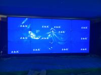 德州某建筑集团云敏视拼接屏安装完毕