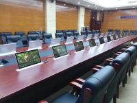 智能无纸化会议系统.升降器.升降屏.水平翻转器.电子桌牌。