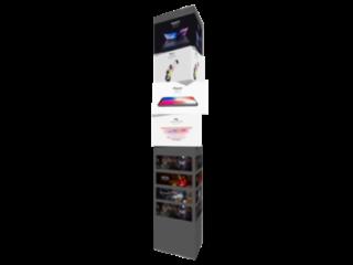 三菱旋轉屏-三菱柱水平旋轉全彩LED顯示屏