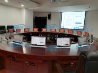 美格无纸化会议系统音视频矩阵系统升降终端用于成都金牛检察院