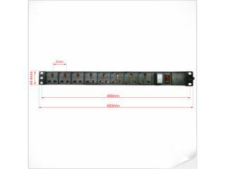 XR-PTPDU-新锐视听 机房PDU 机柜PDU 机架式PDU  国标PDU 万能PDU