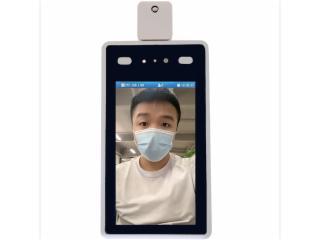 捷易科技D722-人臉識別測溫考勤門禁一體機
