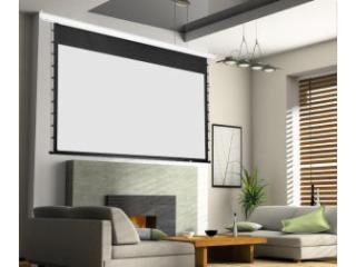 150寸-经科(JK)投影幕布电动高清家用4K3D玻纤拉绳