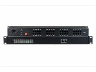 FCP-032F2-11/S32F2-11-飛暢科技-32路電話(RJ11)+2路百兆以太網 電話光端機