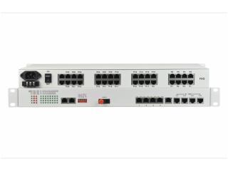 FCP-O32E8F4R4/FCP-S32E8F4R4-飞畅科技-32路电话+8E1+4FE+4路串口 电话光端机