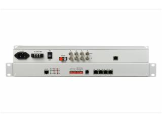 FCP-E4F4-飞畅科技-4E1+4路百兆以太网 PDH光端机
