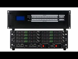 XR-QHJZ8-16-新锐视听8X8 16X16无缝切换混合视频矩阵