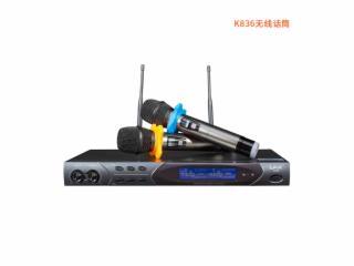 K836話筒-LAX K836 無線麥克風 話筒