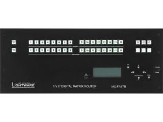 MX-FR17R-MX 矩陣機箱冗余電源版