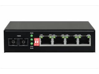 FCMP-F4-飞畅科技-1光4电百兆 光纤收发器