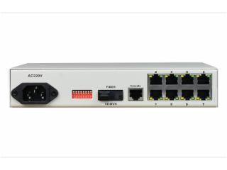 FCM-F8C1-飛暢科技-8路百兆以太可配置VLAN型光纖收發器
