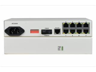 FCM-G8C1-飛暢科技-8路千兆以太可配置VLAN型光纖收發器