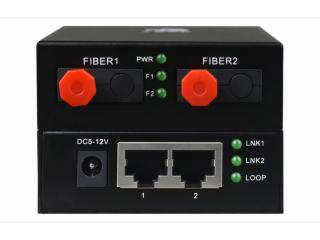 FCMJ-G2-飛暢科技-2光2電 2個千兆光轉2路千兆電(級聯型)光纖收發器