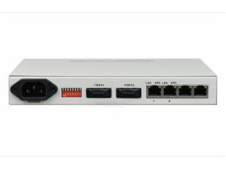 FCMJ F2-飛暢科技-2光2電口級聯(節點)型百兆以太網光纖收發器