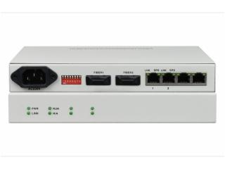 FCMJ G2-飞畅科技-2光2电口级联(节点)型千兆以太网光纤收发器