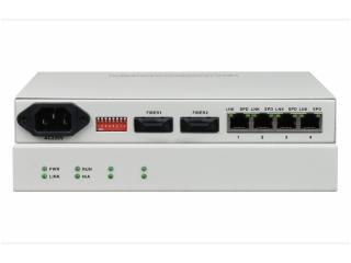 FCMJ-G4-飛暢科技-2光4電口級聯(節點)型千兆以太網光纖收發器