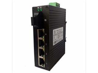 深圳讯记工业交换机4电1光以太网交换机