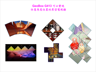 G413-創意型異型拼接電視牆控制器