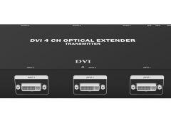 4K DVI光纖收發器,光纖延長器(四合一)或(二合一)
