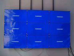 云敏視49寸3.5mm液晶拼接屏安裝案例分享