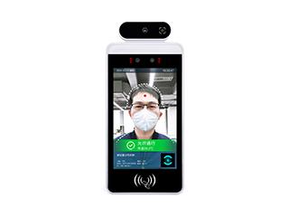 SW-1082X(二維碼款)-二維碼版壁掛式測溫人臉識別通行管理模組