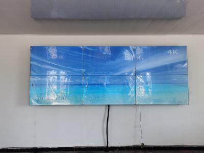 云敏视55寸3.5mm液晶拼接屏安转案例分享