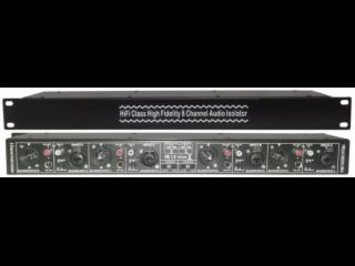8通道音频信号隔离器 音频隔离器 1U机柜式噪音隔离器 交流