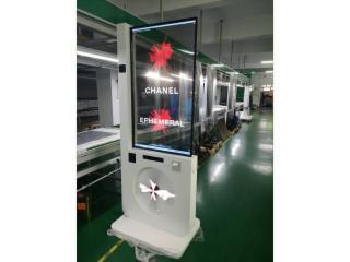 WG-55EW8-55寸OLED透明拼接屏 萬國升降OLED透明屏