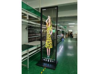 WG-55EW8-2-55寸OLED透明拼接屏 萬國升降OLED透明屏