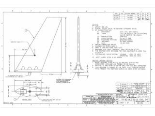 110-341-機載刀形天線121.5-406MHz