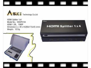 HDSP0104-HDMI分配器1进4出标准型