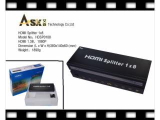 HDSP0108-HDMI分配器1进8出标准型