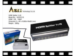 HDSP01016-HDMI分配器1进16出标准型
