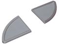 HCS-4845N/20-嵌入式裝飾片