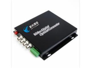 OPT-S4V-T/RF-4路视频光端机+选件