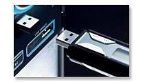 通过便携式 USB 设备直接享受 MP3/WMA 音乐